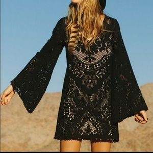 Spell and the Gypsy Fleetwood lace mini dress